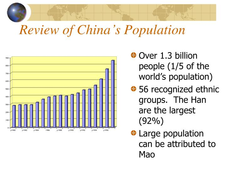 Review of China's Population