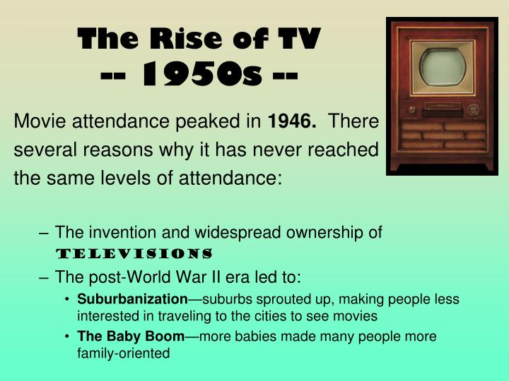 The Rise of TV
