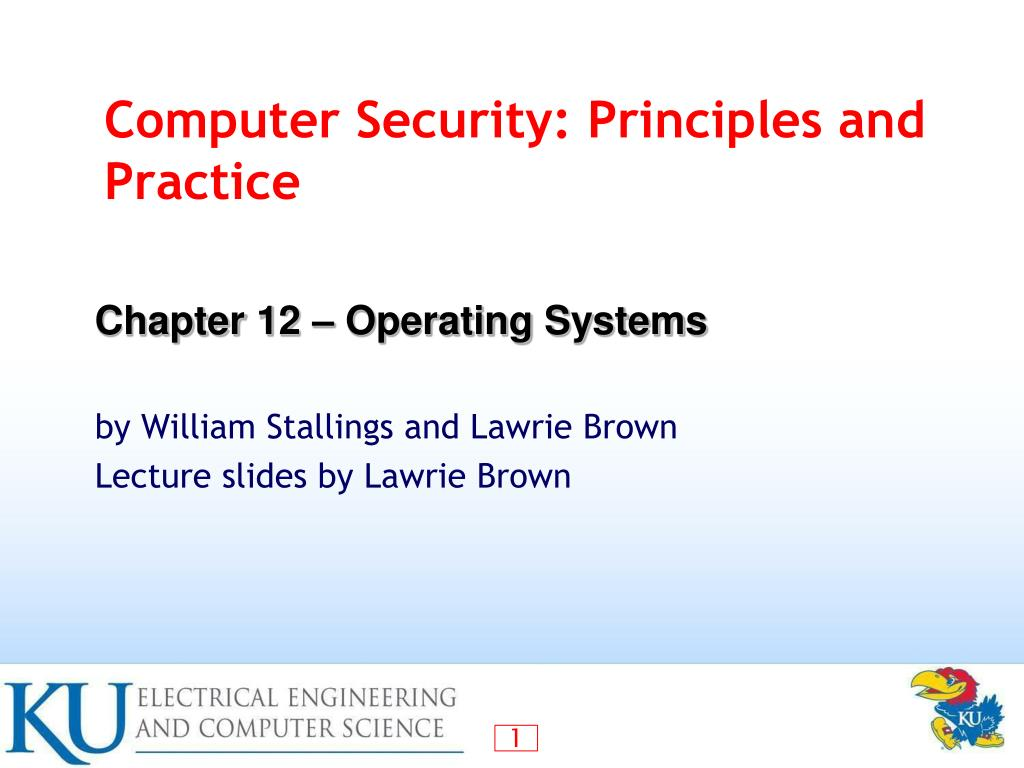 Ppt Computer Security Principles And Practice Powerpoint