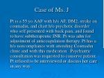 case of ms j