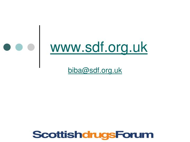 www.sdf.org.uk