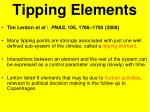 tipping elements