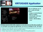 virtuguide application