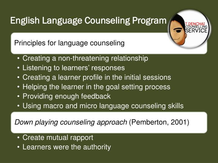 Masters thesis counseling