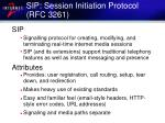 sip session initiation protocol rfc 3261