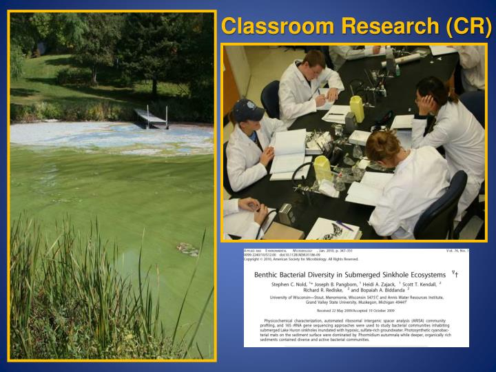 Classroom Research (CR)