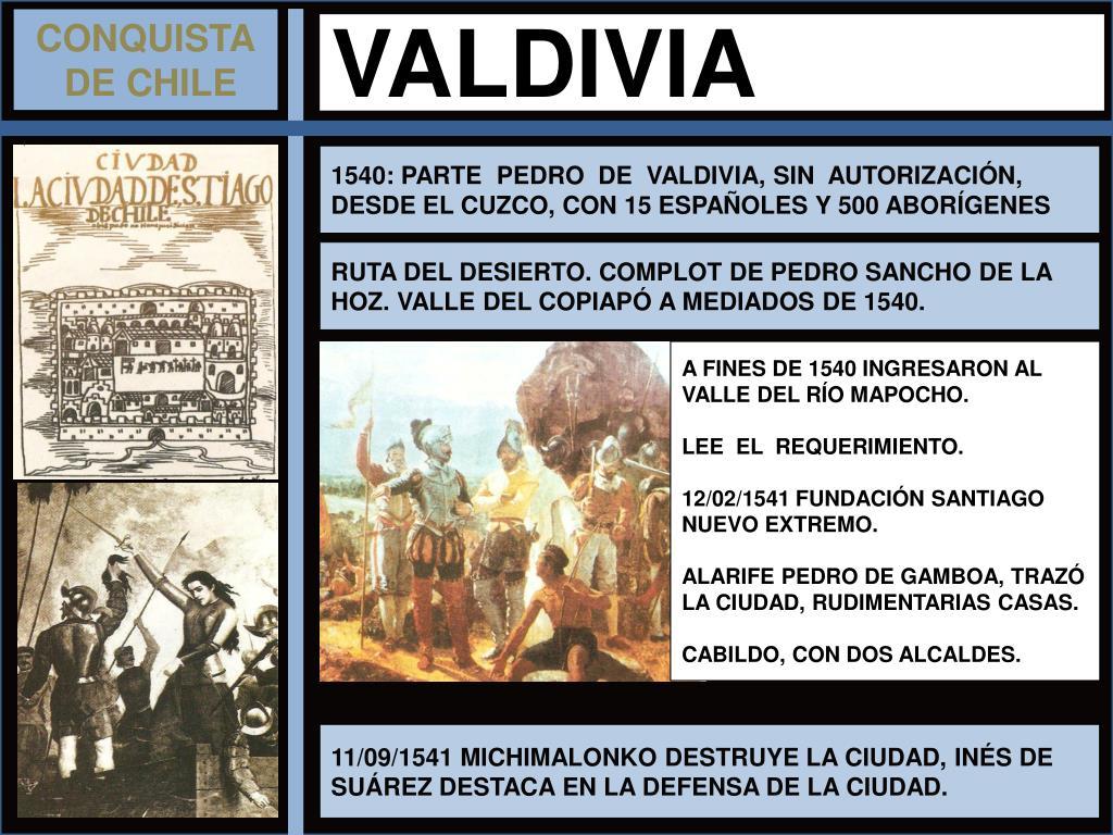 Resultado de imagen para 11 DE SEPTIEMBRE DE 1541 CHILE