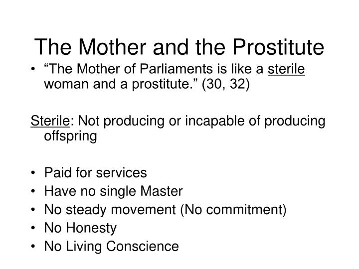 The Mother and the Prostitute