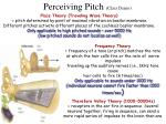 perceiving pitch class demo