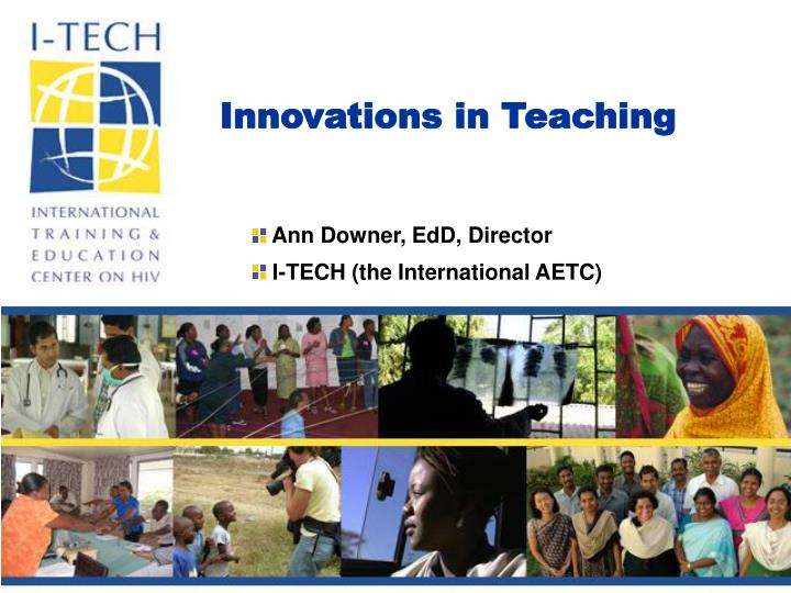 Innovations in Teaching