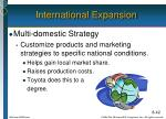 international expansion1