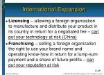international expansion3