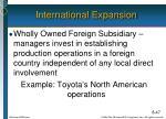 international expansion5
