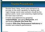 toyota procedures