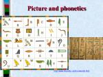 picture and phonetics