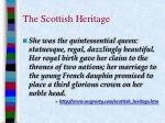 the scottish heritage