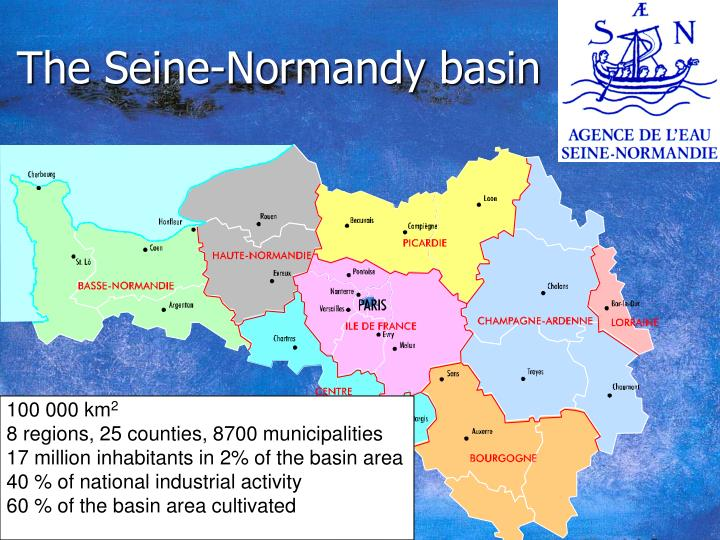 The Seine-Normandy basin