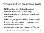 network address translation nat