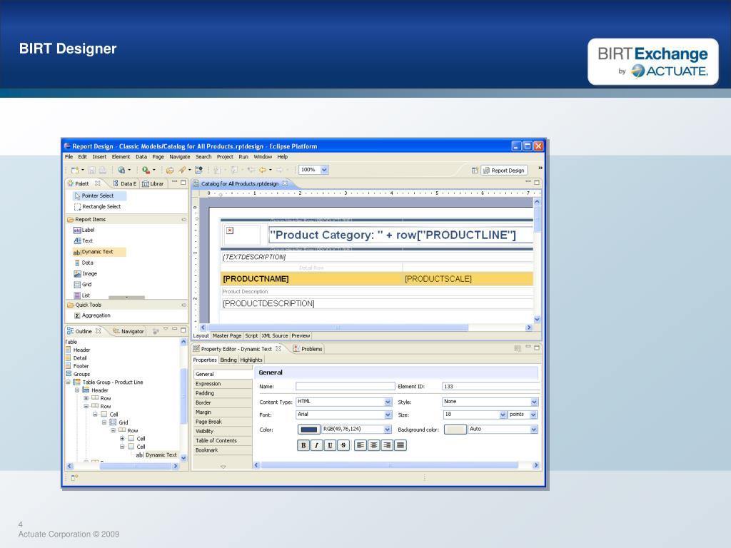 PPT - BIRT Exchange PowerPoint Presentation - ID:3804491