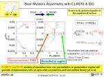 boer mulders asymmetry with clas12 eic