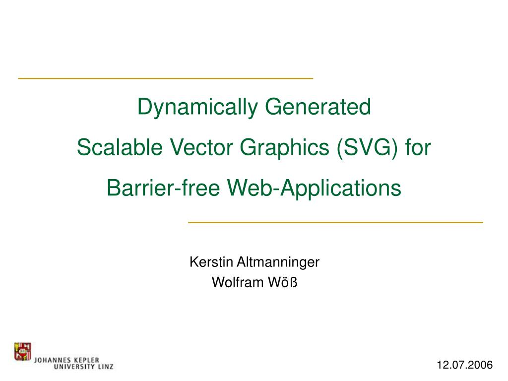 ppt dynamically generated scalable vector graphics svg for