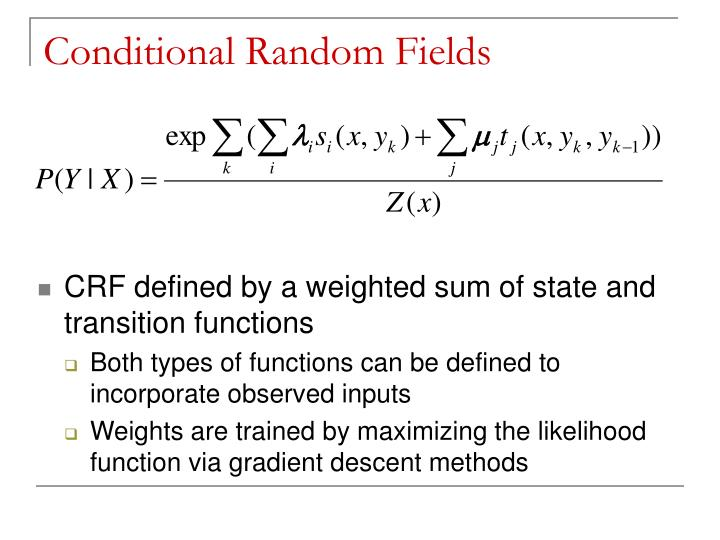 information extraction from research papers using conditional random fields Accurate information extraction from research papers using conditional random fields fuchun peng department of computer science university of massachusetts.