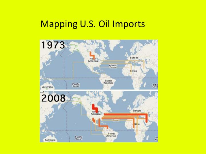 Mapping U.S. Oil Imports
