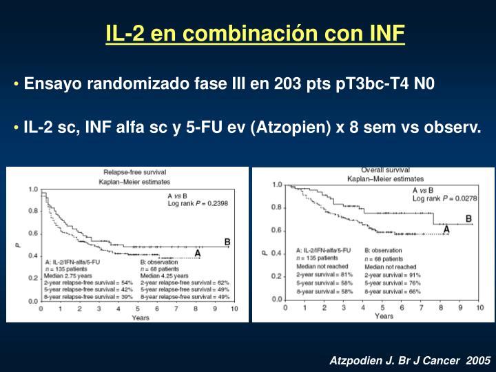 IL-2 en combinaci