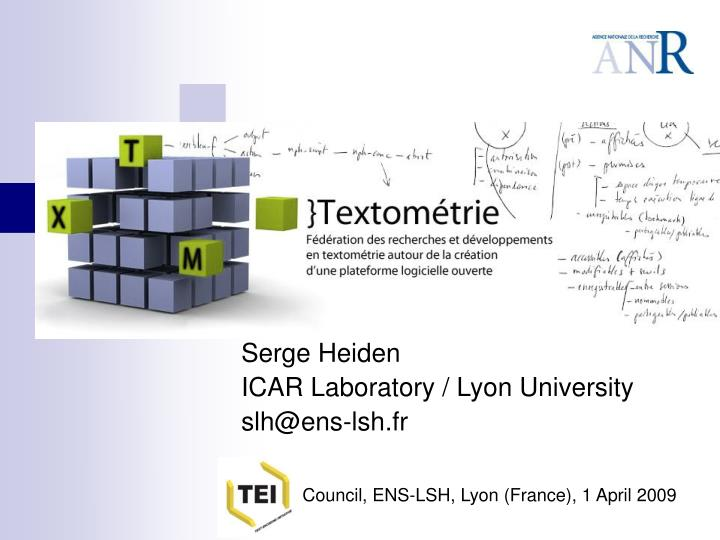 rencontres tei council lyon 2009 n.