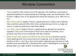 window convention
