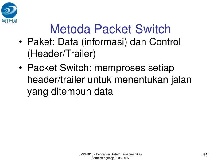 Metoda Packet Switch