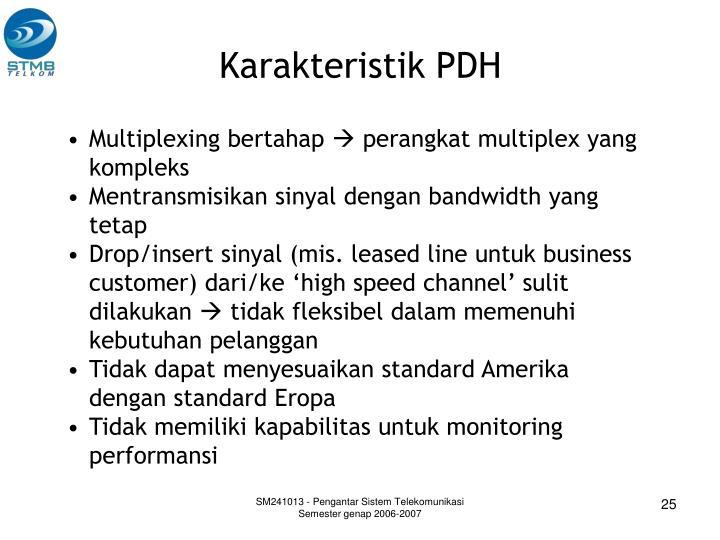 Karakteristik PDH