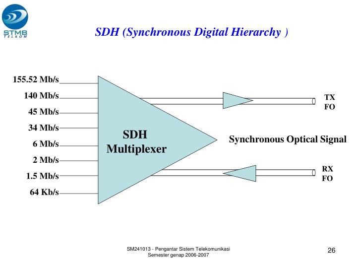 SDH (Synchronous