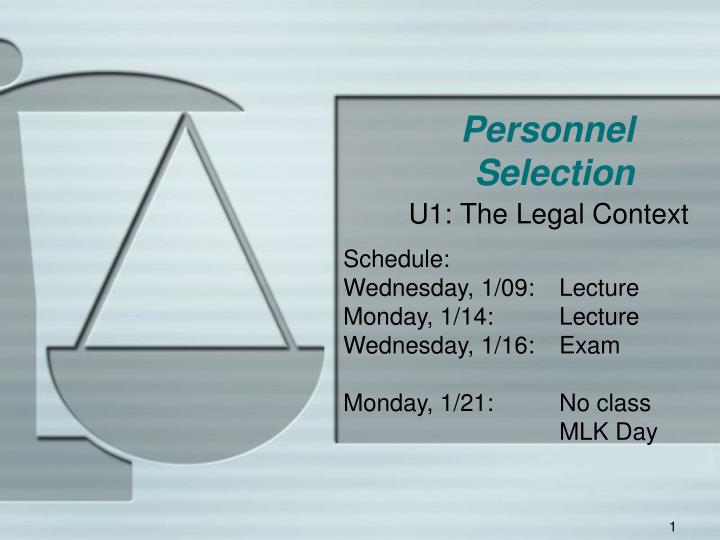 personnel selection n.