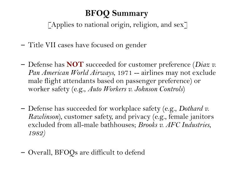 define bfoq