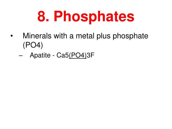 8. Phosphates