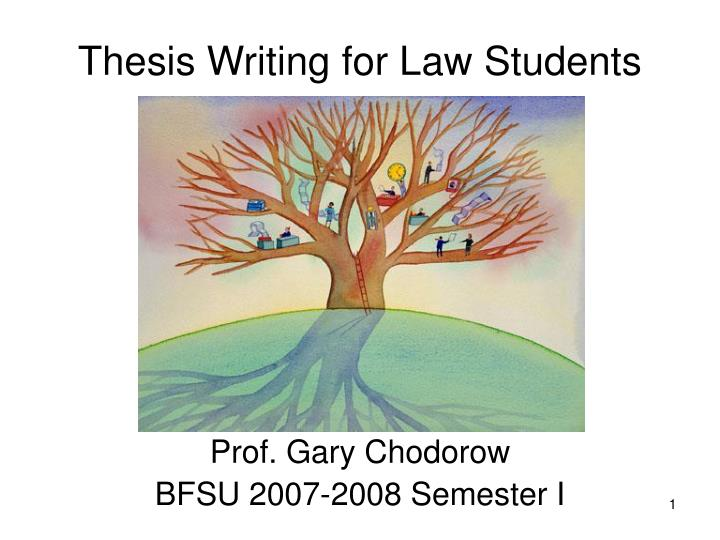 thesis writing for law students n.