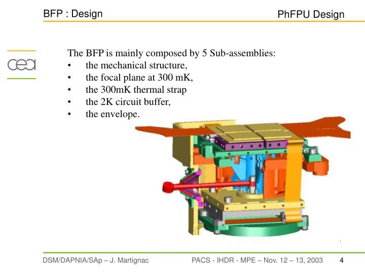 BFP : Design