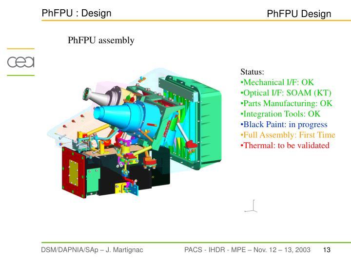 PhFPU : Design