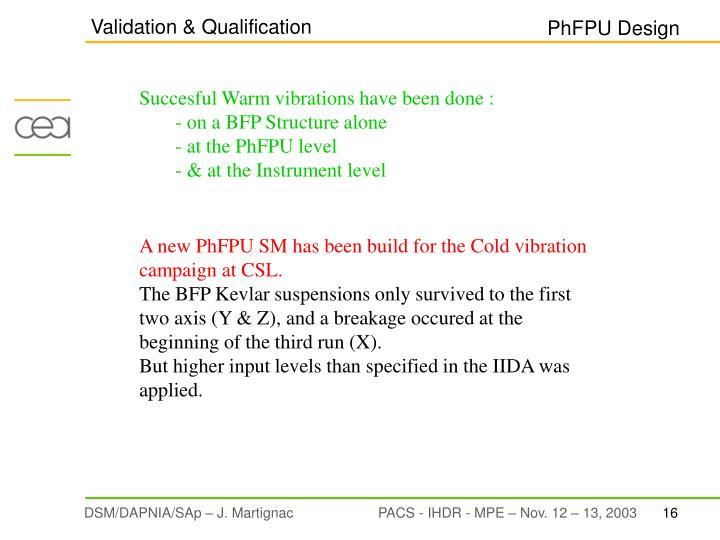 Validation & Qualification