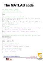 the matlab code