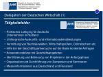 delegation der deutschen wirtschaft 1