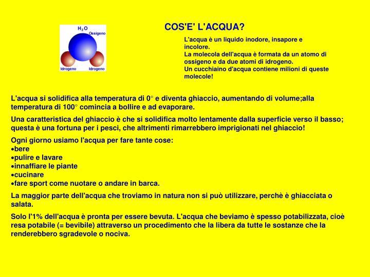 A cqua
