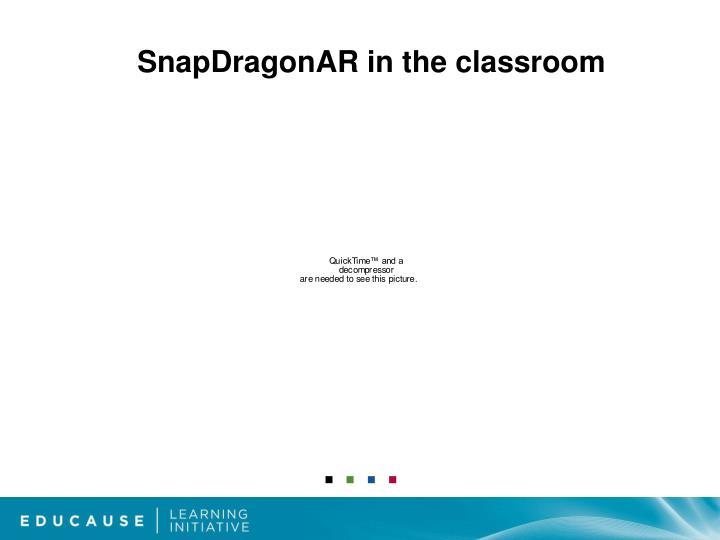 SnapDragonAR in the classroom