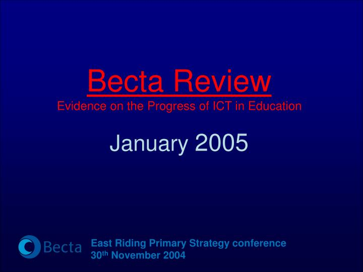 Becta Review