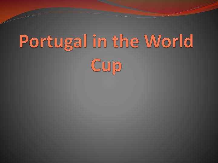 portugal in the world cup n.