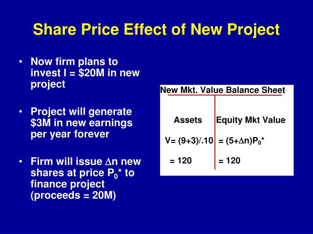 PPT - Corporate Investment and Shareholder Wealth PowerPoint