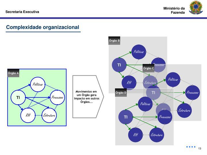 Complexidade organizacional