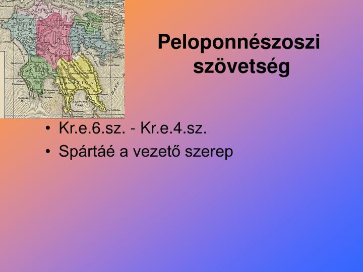 Peloponnészoszi