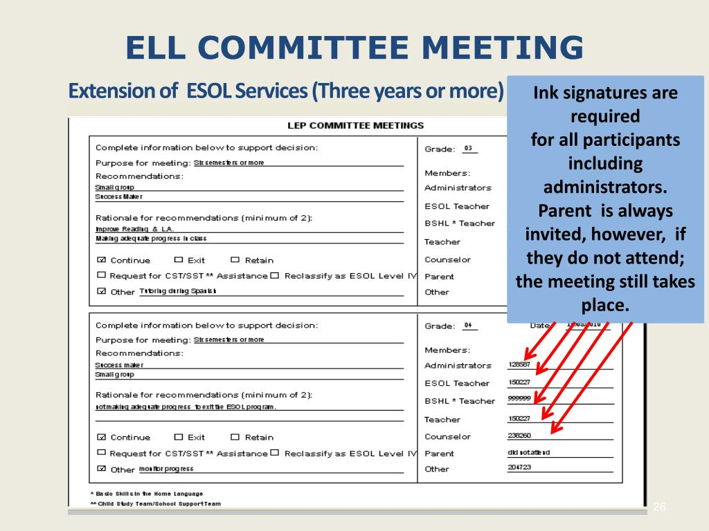ell-committee-meeting-l Letter Of Invitation To Serve On A Committee Template on